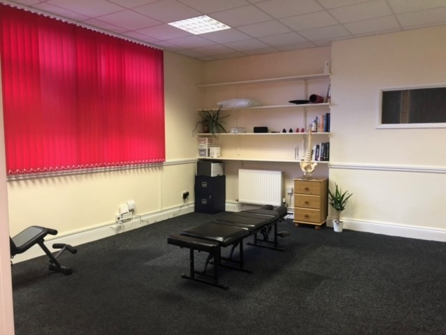 Inside the chiropractic clinic